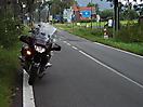 Grenzübergang Polen - Tschechien  bei Lunwka